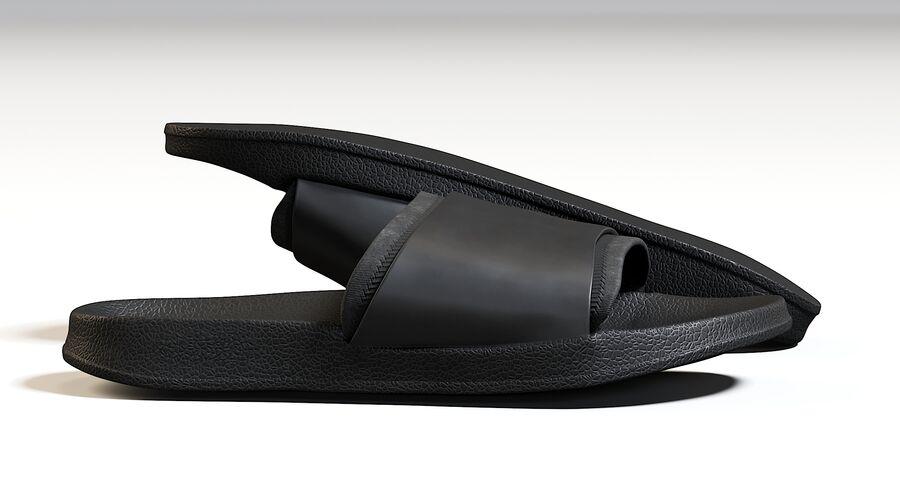 Flip Flops royalty-free 3d model - Preview no. 14