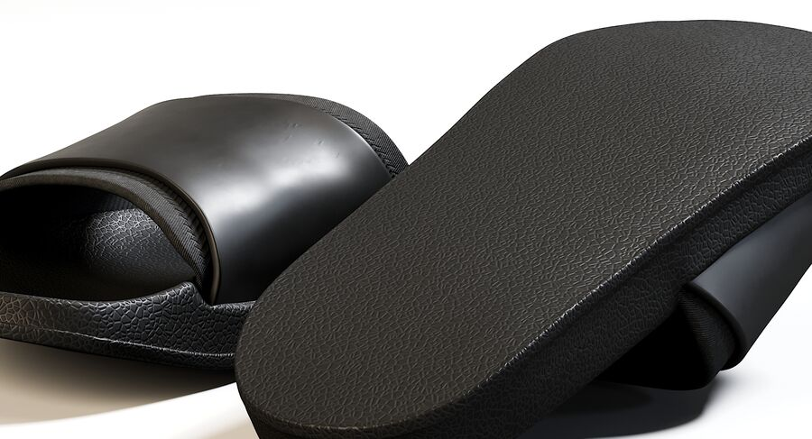Flip Flops royalty-free 3d model - Preview no. 13