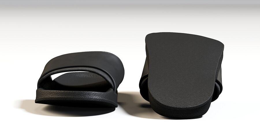 Flip Flops royalty-free 3d model - Preview no. 10