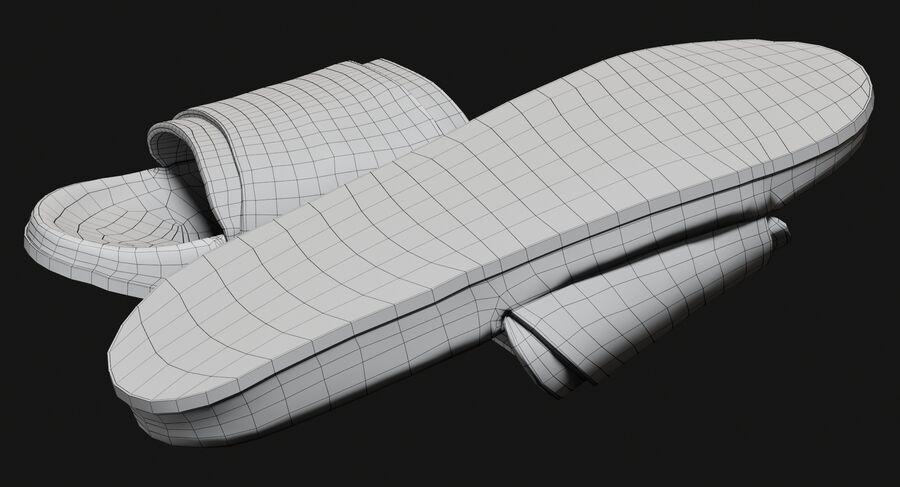 Flip Flops royalty-free 3d model - Preview no. 20