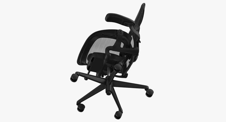 Chaise Herman Miller Aeron - 01 royalty-free 3d model - Preview no. 9