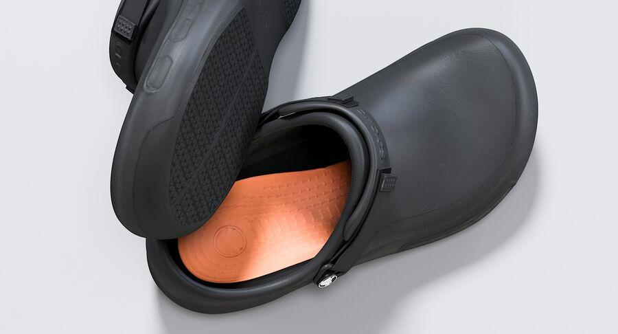 Crocs royalty-free 3d model - Preview no. 5