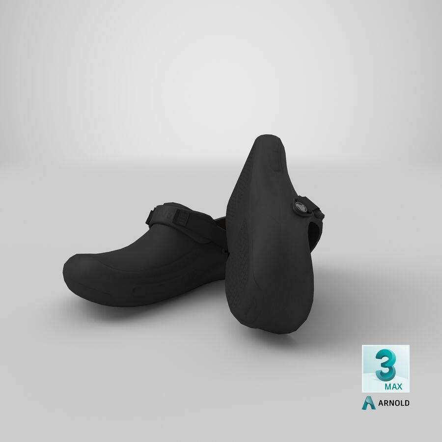 Crocs royalty-free 3d model - Preview no. 26