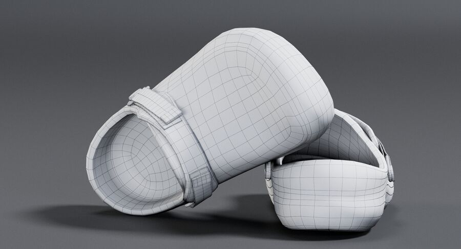 Crocs royalty-free 3d model - Preview no. 14