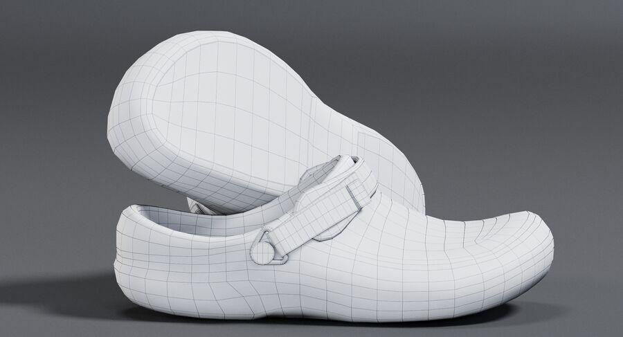 Crocs royalty-free 3d model - Preview no. 13