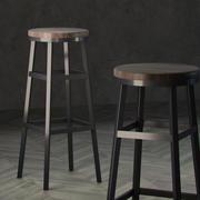Banqueta para móveis fora 3d model