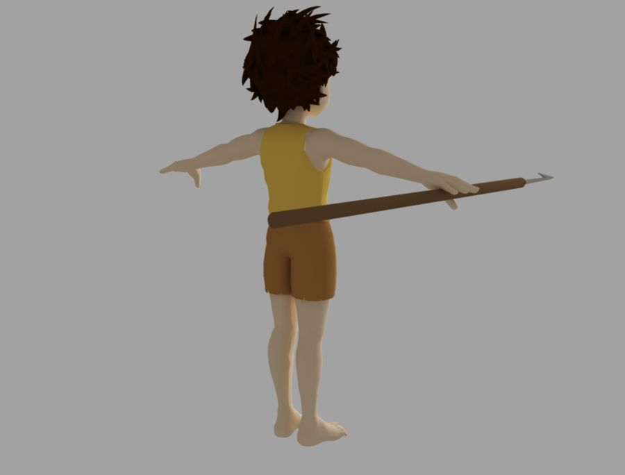 conan royalty-free 3d model - Preview no. 5