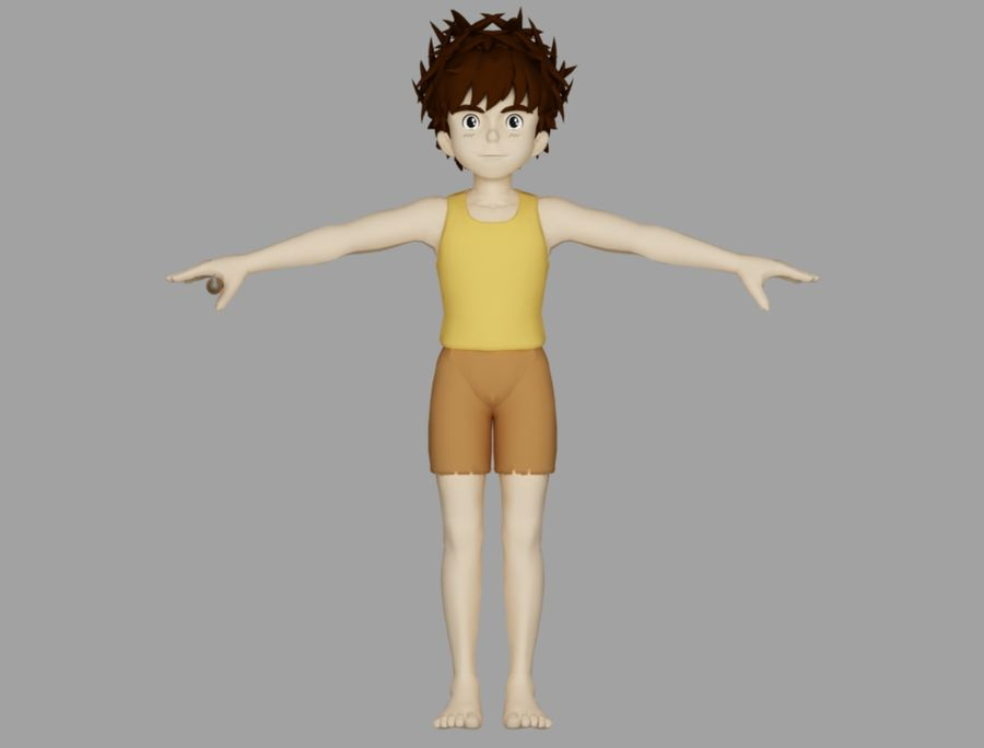 conan royalty-free 3d model - Preview no. 2
