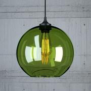 Lámpara colgante 2 Loft Design modelo 3d