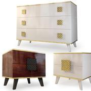 Dresser nightstand Diora Furniture Yartsevo 3d model