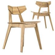 Chaise Facet 3d model