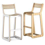 D 바 의자 3d model