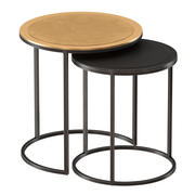 nurl Nesting Accent Tables Set of Two 3d model