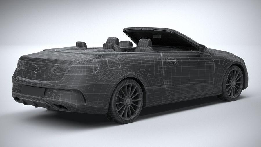 Mercedes E-Class Cabriolet AMG Line 2021 royalty-free 3d model - Preview no. 33