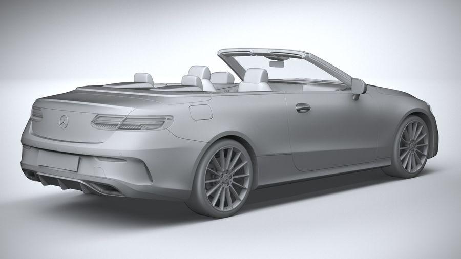 Mercedes E-Class Cabriolet AMG Line 2021 royalty-free 3d model - Preview no. 26