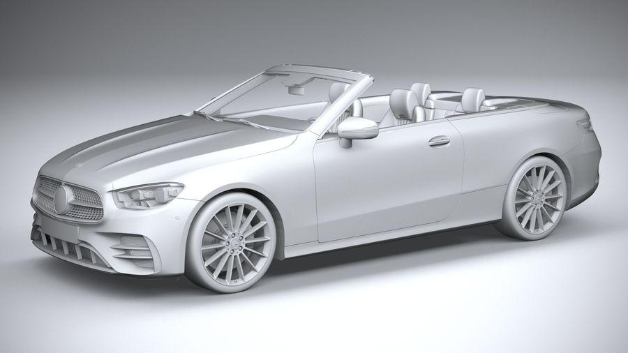 Mercedes E-Class Cabriolet AMG Line 2021 royalty-free 3d model - Preview no. 20