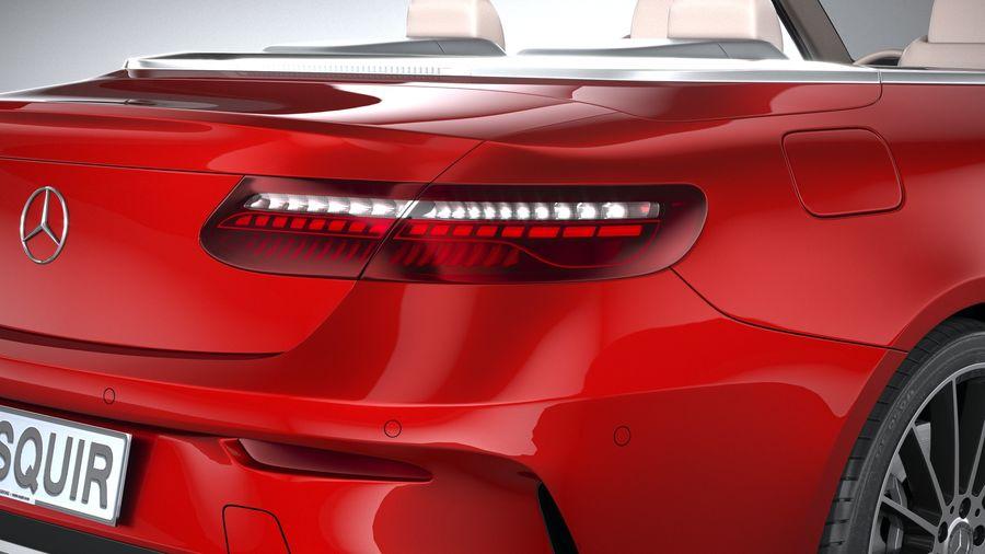 Mercedes E-Class Cabriolet AMG Line 2021 royalty-free 3d model - Preview no. 19