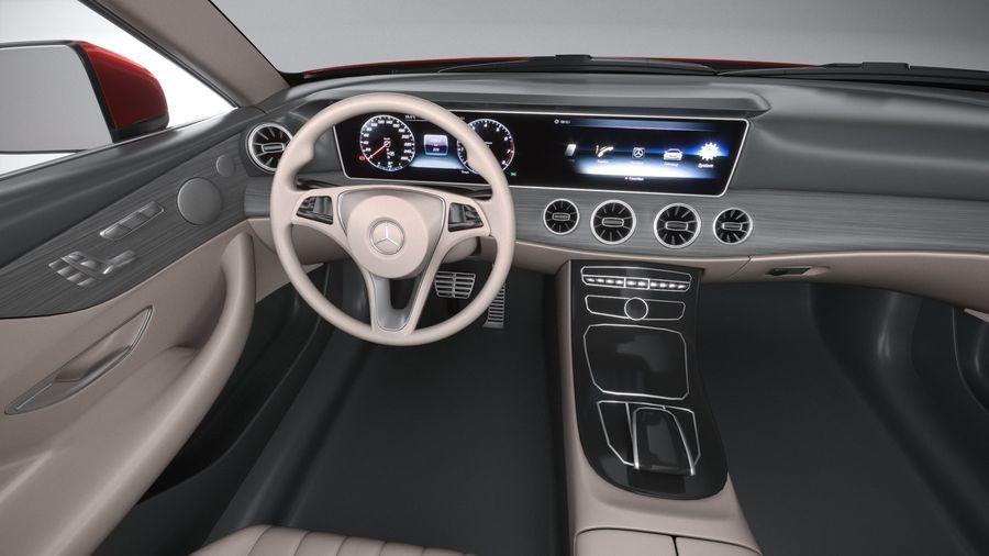 Mercedes E-Class Cabriolet AMG Line 2021 royalty-free 3d model - Preview no. 28