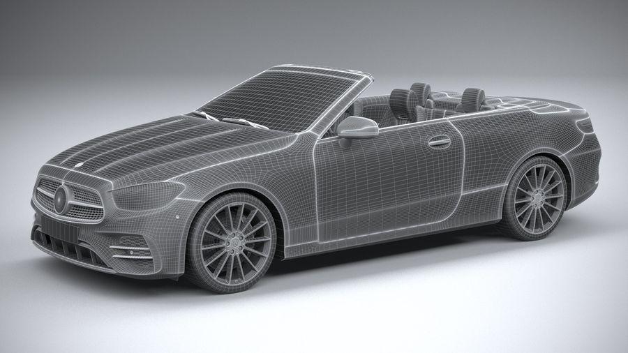 Mercedes E-Class Cabriolet AMG Line 2021 royalty-free 3d model - Preview no. 30