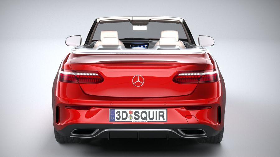 Mercedes E-Class Cabriolet AMG Line 2021 royalty-free 3d model - Preview no. 5