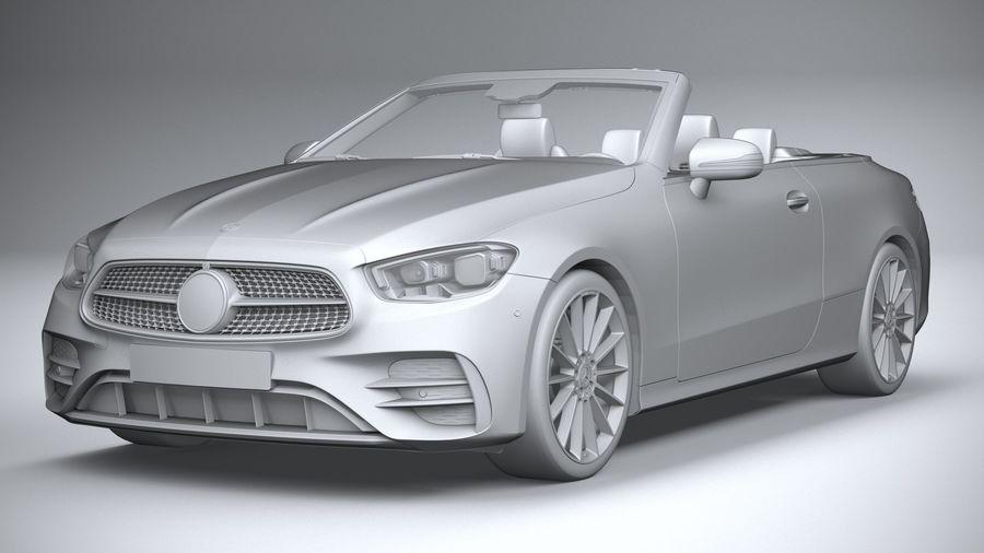 Mercedes E-Class Cabriolet AMG Line 2021 royalty-free 3d model - Preview no. 21