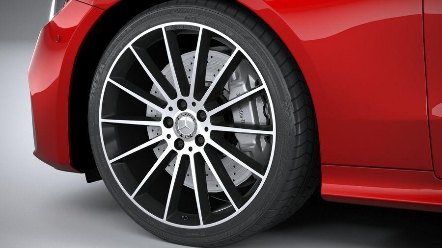 Mercedes E-Class Cabriolet AMG Line 2021 royalty-free 3d model - Preview no. 17