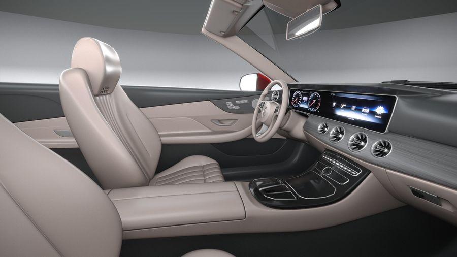 Mercedes E-Class Cabriolet AMG Line 2021 royalty-free 3d model - Preview no. 29
