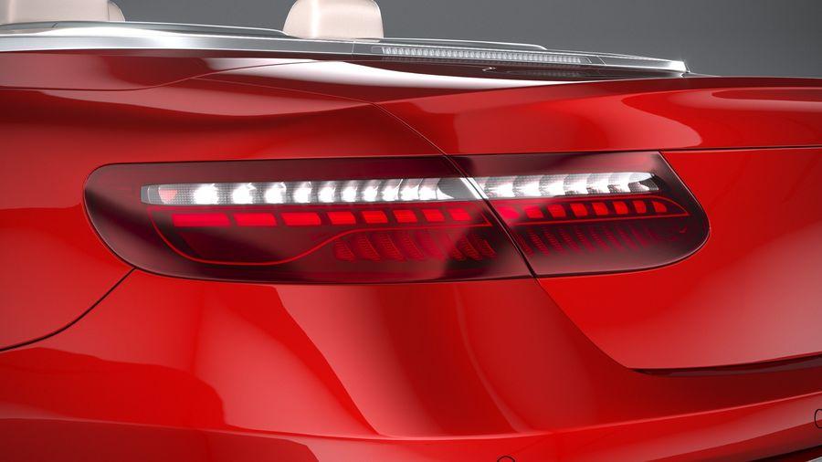 Mercedes E-Class Cabriolet AMG Line 2021 royalty-free 3d model - Preview no. 16