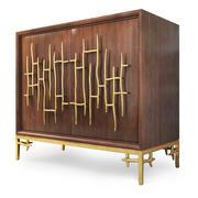Ambella Home Dolan Accent Cabinet의 사이드 보드. 3d model