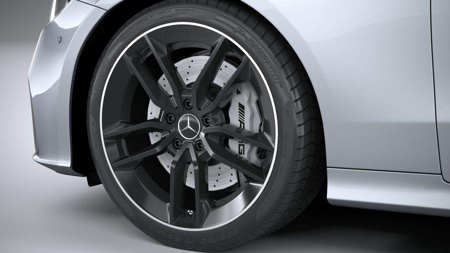 Mercedes E53 Cabrio AMG 2021 royalty-free 3d model - Preview no. 17