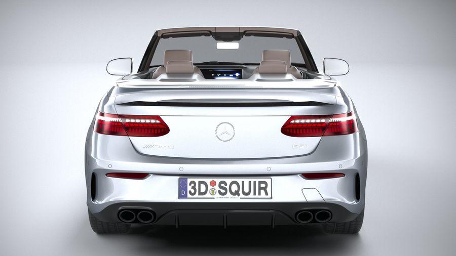Mercedes E53 Cabrio AMG 2021 royalty-free 3d model - Preview no. 5