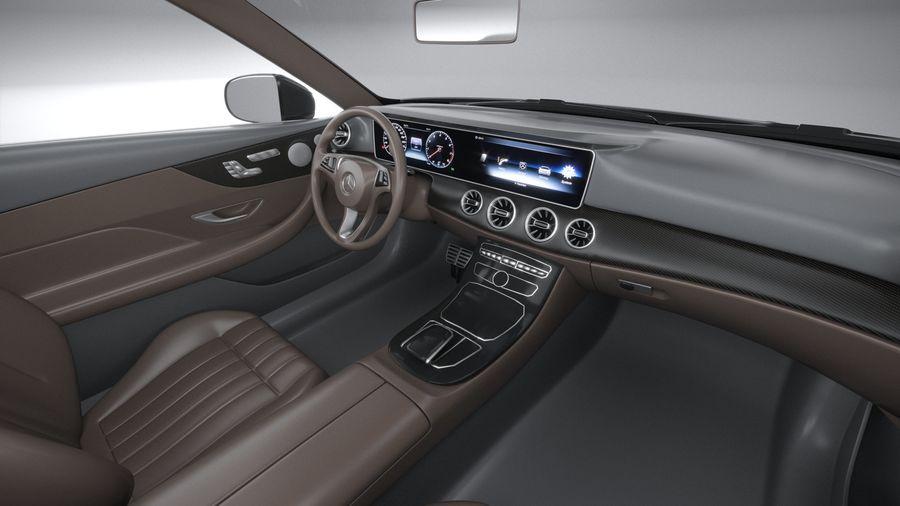Mercedes E53 Cabrio AMG 2021 royalty-free 3d model - Preview no. 27