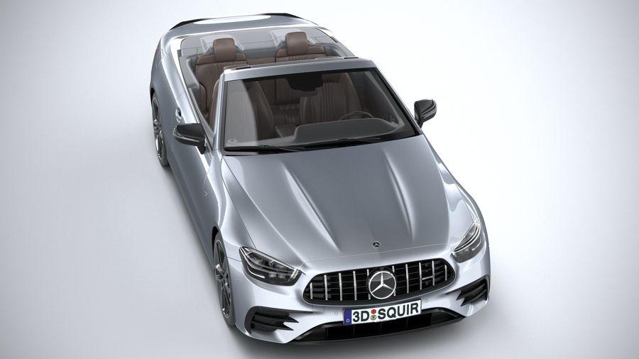 Mercedes E53 Cabrio AMG 2021 royalty-free 3d model - Preview no. 13