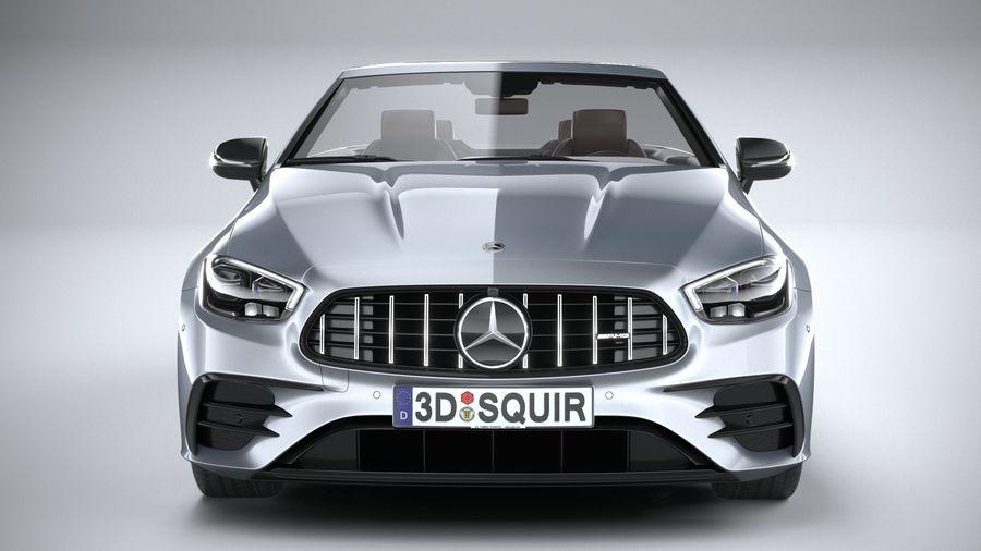 Mercedes E53 Cabrio AMG 2021 royalty-free 3d model - Preview no. 14