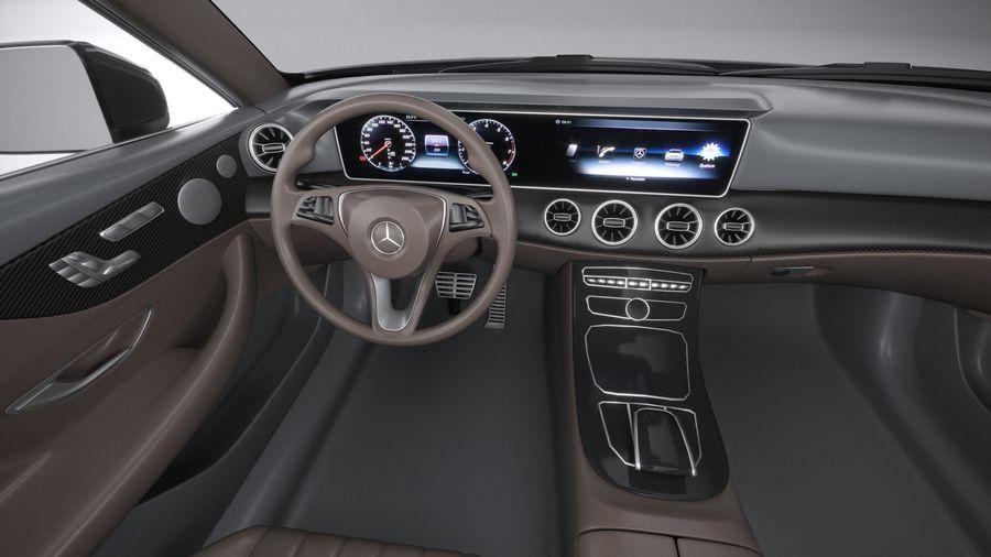 Mercedes E53 Cabrio AMG 2021 royalty-free 3d model - Preview no. 28