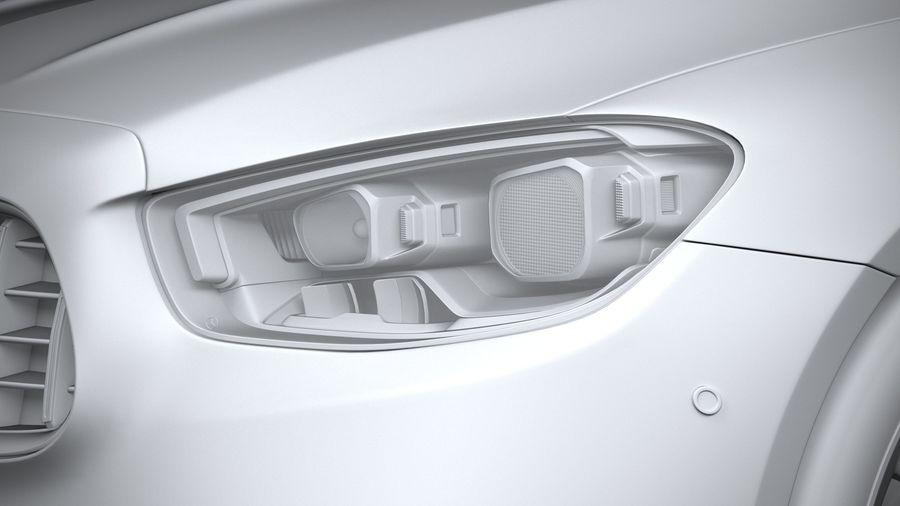 Mercedes E53 Cabrio AMG 2021 royalty-free 3d model - Preview no. 24