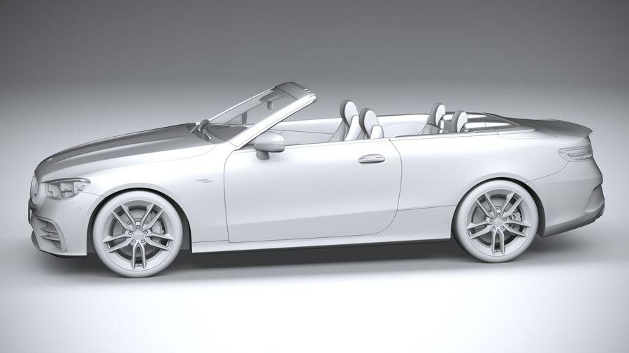 Mercedes E53 Cabrio AMG 2021 royalty-free 3d model - Preview no. 23