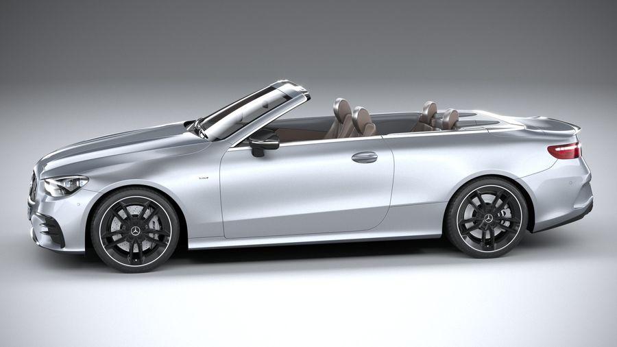 Mercedes E53 Cabrio AMG 2021 royalty-free 3d model - Preview no. 9