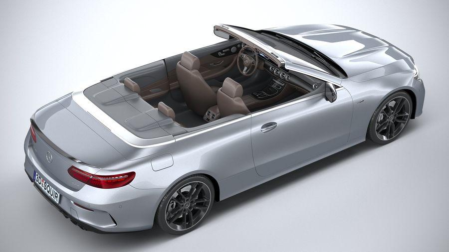 Mercedes E53 Cabrio AMG 2021 royalty-free 3d model - Preview no. 11