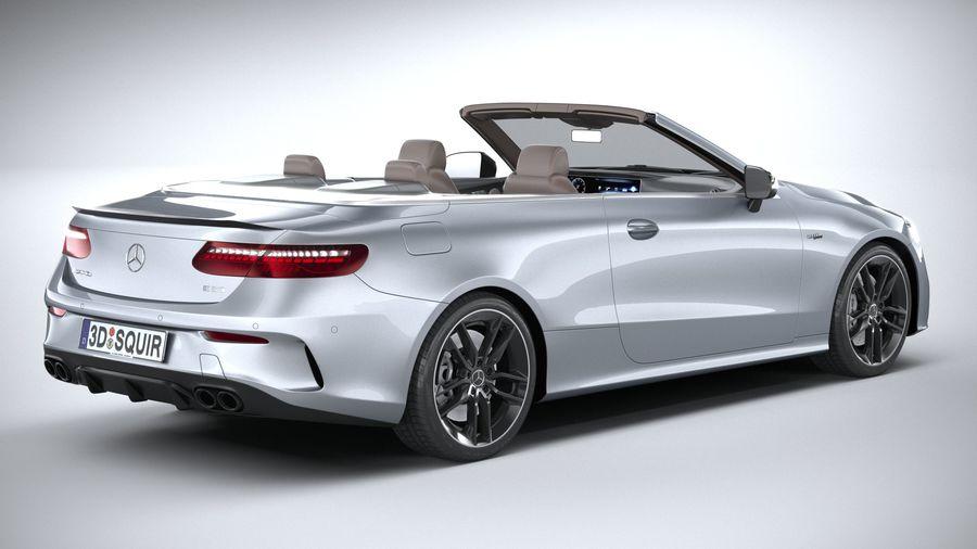 Mercedes E53 Cabrio AMG 2021 royalty-free 3d model - Preview no. 18