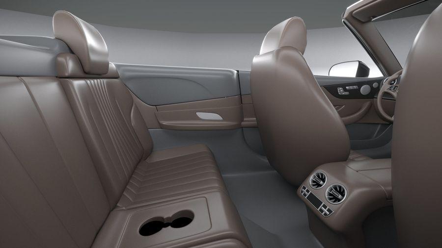 Mercedes E53 Cabrio AMG 2021 royalty-free 3d model - Preview no. 30