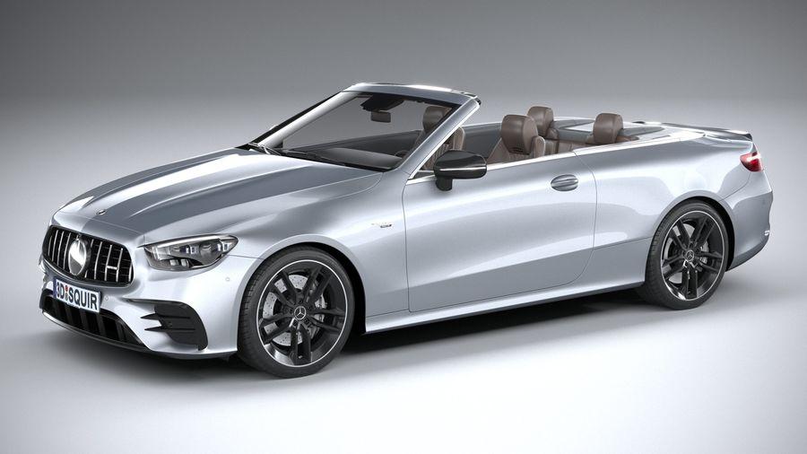 Mercedes E53 Cabrio AMG 2021 royalty-free 3d model - Preview no. 1