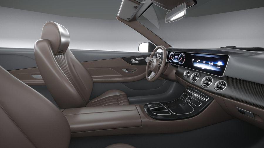 Mercedes E53 Cabrio AMG 2021 royalty-free 3d model - Preview no. 29