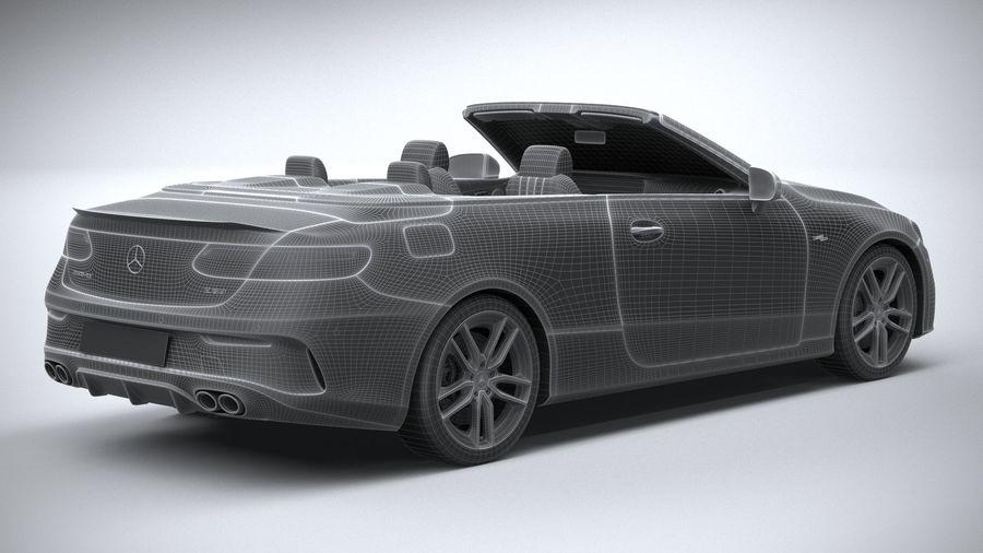 Mercedes E53 Cabrio AMG 2021 royalty-free 3d model - Preview no. 32