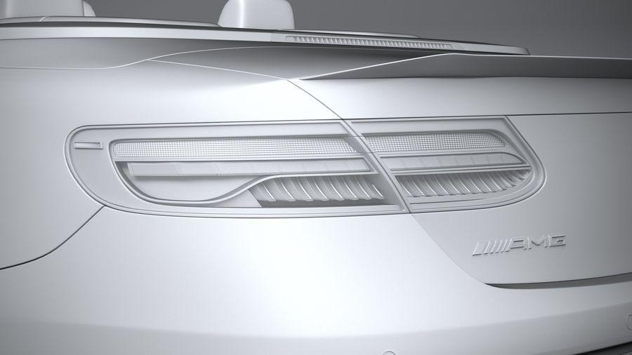 Mercedes E53 Cabrio AMG 2021 royalty-free 3d model - Preview no. 25