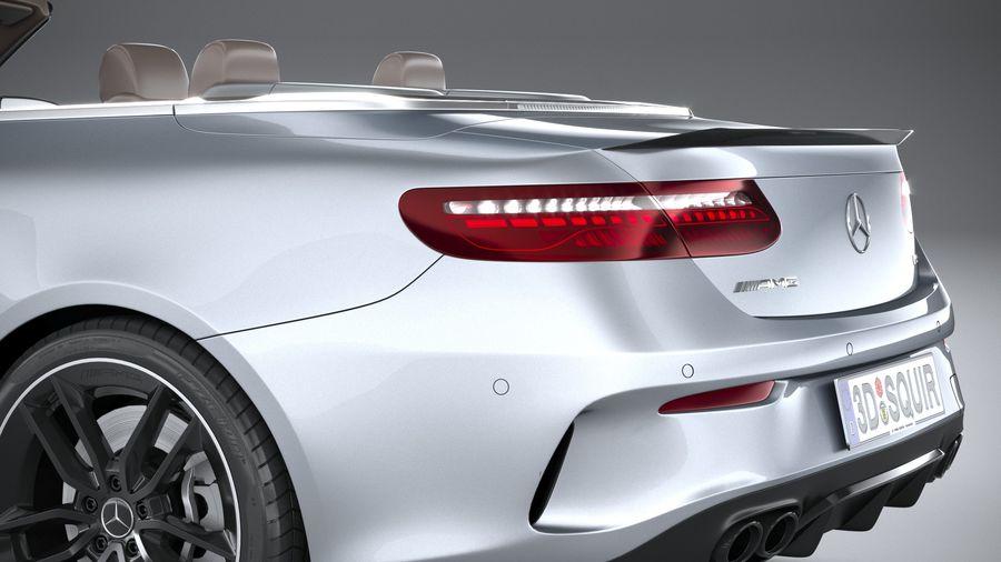 Mercedes E53 Cabrio AMG 2021 royalty-free 3d model - Preview no. 7