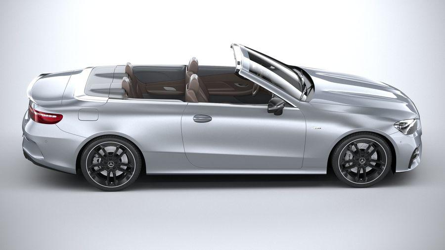 Mercedes E53 Cabrio AMG 2021 royalty-free 3d model - Preview no. 12
