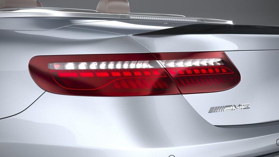 Mercedes E53 Cabrio AMG 2021 royalty-free 3d model - Preview no. 16