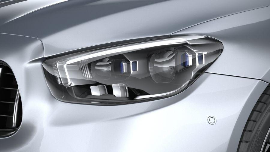 Mercedes E53 Cabrio AMG 2021 royalty-free 3d model - Preview no. 15