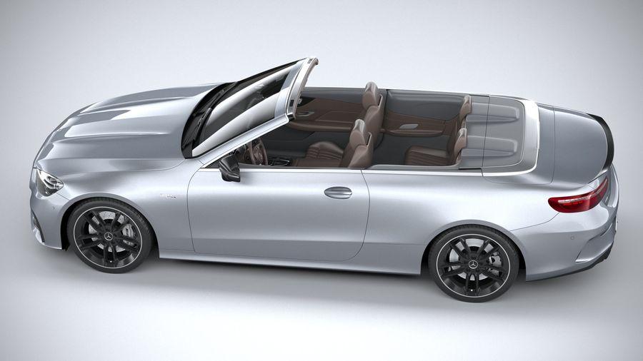 Mercedes E53 Cabrio AMG 2021 royalty-free 3d model - Preview no. 10